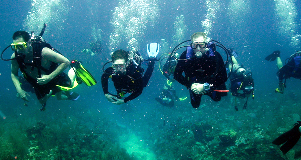 Aquaworld Cancun Open Water Referral Image Gallery