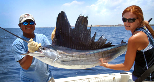 Aquaworld Cancun Shared Fishing Charter Image