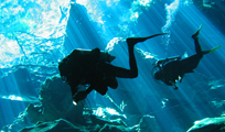 Aquaworld Cozumel Cavern Dive Image