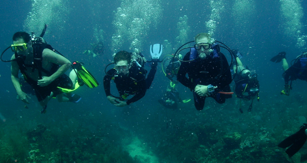 Aquaworld Cozumel Open Water Certification Image Gallery