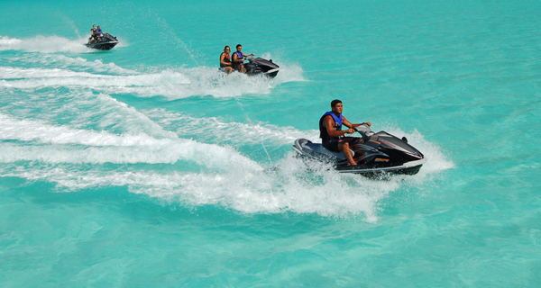 Cancun Waverunners Image Gallery
