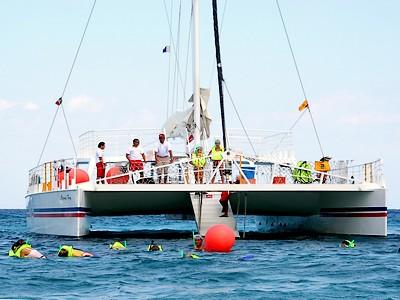 Fury Catamarans Caribbean Snorkel Combo Image