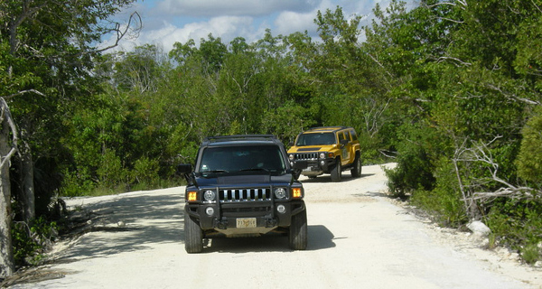 Hummer Jungle Tour Adventure Image Gallery
