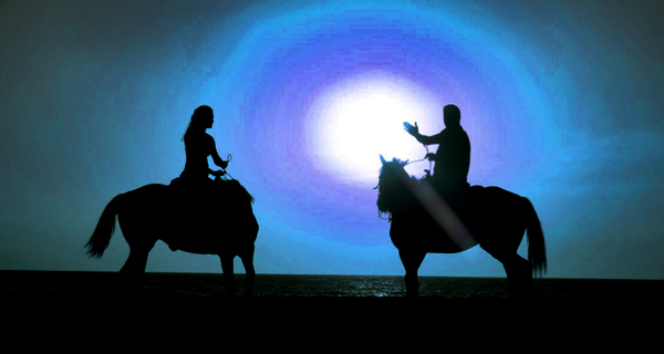 Rancho Baaxal Full Moon Horseback Riding Image Gallery