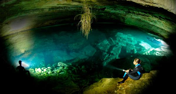 Scuba Playa Cenote Dive Image Gallery