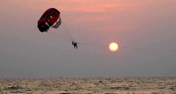 Sky Rider Cancun Parasailing