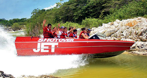 X-treme Shotover Jet Image Gallery